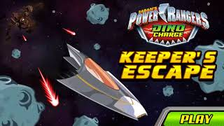 Power Rangers Dino Charge - Keeper's Escape Game - Kid Friendly Gaming!
