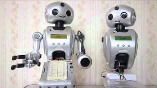 ロボット同士の対話