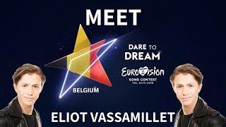 "Road to Eurovision Song Contest 2019: Belgium with Eliot Vassamillet ""Wake Up"""