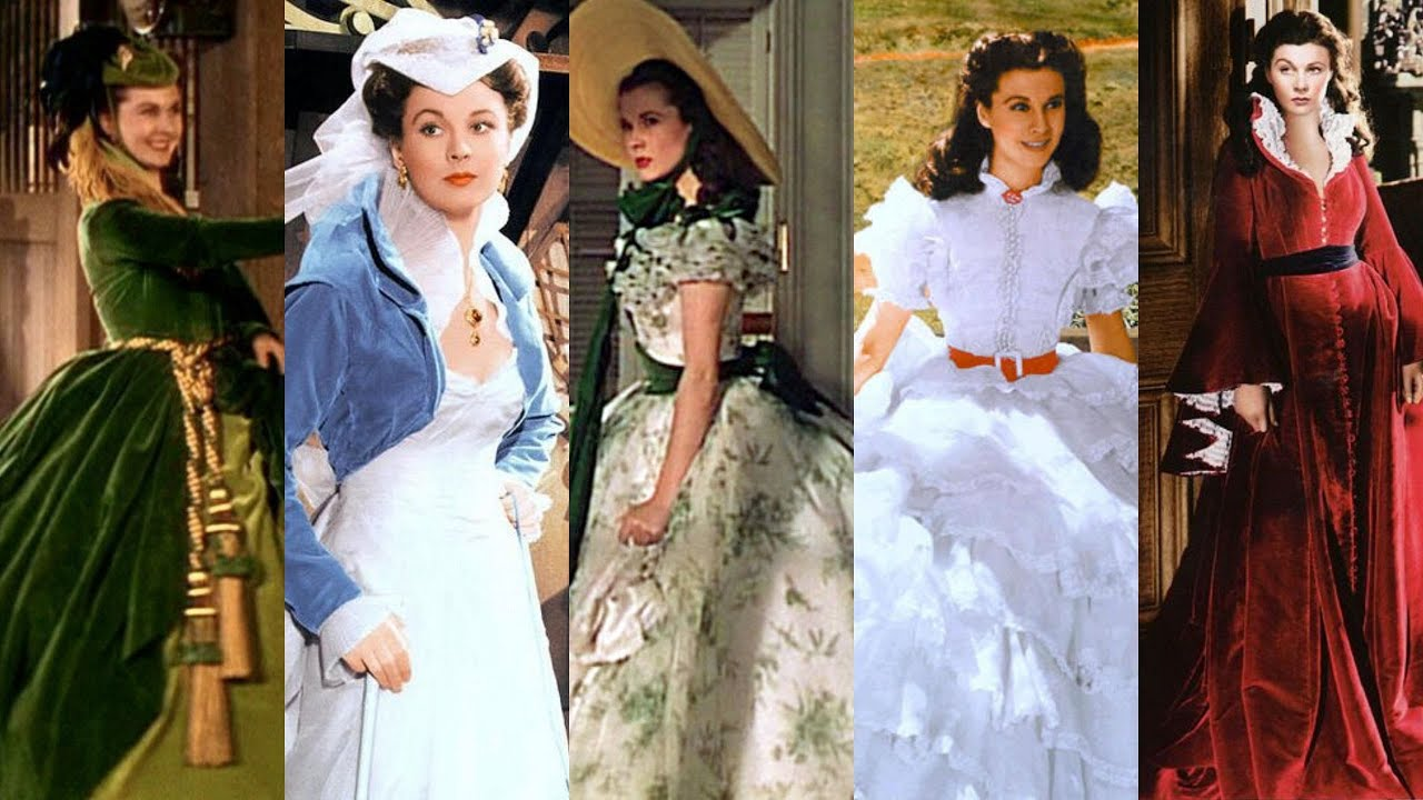 the importance of scarlett's dresses in gone with the wind ...