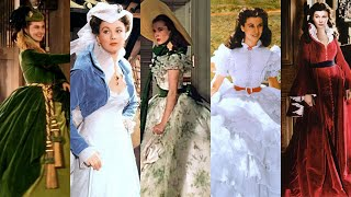 the importance of scarlett's dresses in gone with the wind 🔥🎬🎞