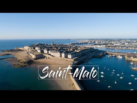 Saint Malo ► La Cité Corsaire | BRETAGNE 4K