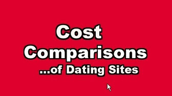 what is the cost of dating websites
