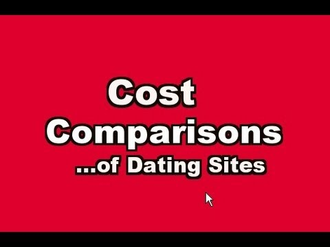 cost comparisons of dating sites