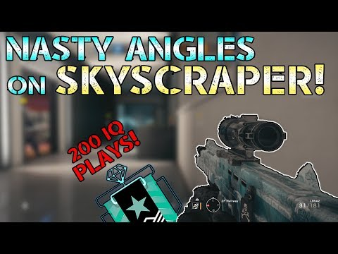 NASTY ANGLES ON SKYSCRAPER!  Rainbow Six Siege Console Diamond