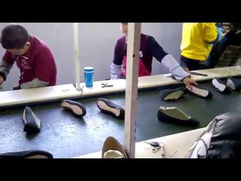 Производство обуви в Китае
