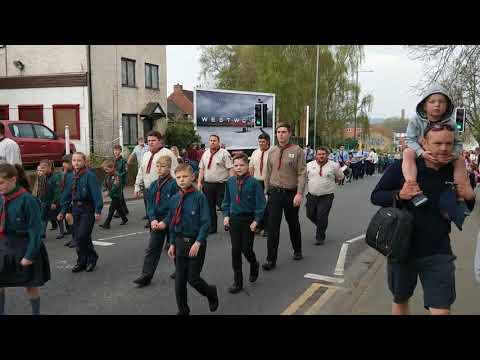 Kidderminster St Georges day parade April 2018