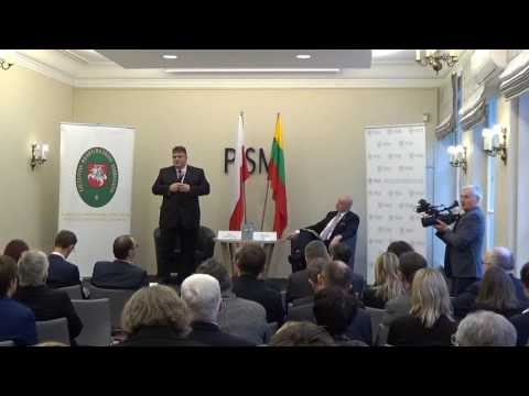 Lithuanian and Polish Contribution to Euro-Atlantic Security - 20/01/2017