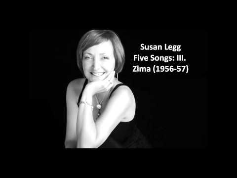 Susan Legg: The complete