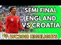 Croatia vs Engand (World Cup Semi Final #2) - Highlights Before They Happen