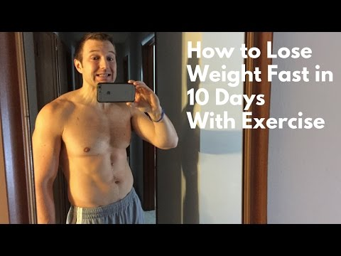 How to Lose Weight Fast in 10 Days with Exercise