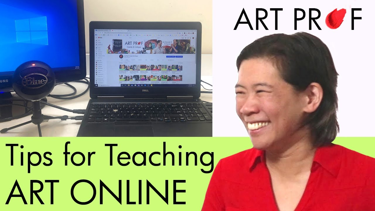 Teaching Art Online: Q&A on What You Need To Know