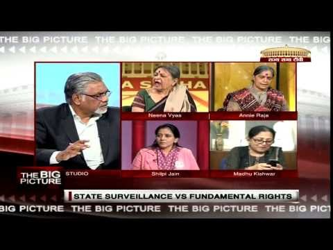 The Big Picture - State Surveillance Vs Fundamental Rights