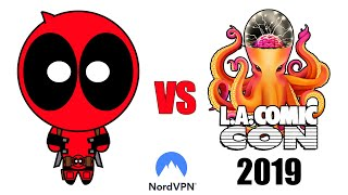 Deadpool vs Los Angeles Comic Con 2019