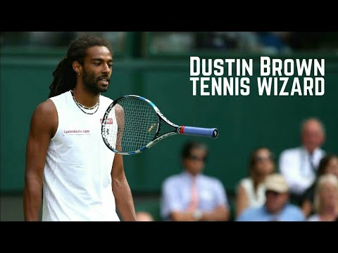 Tennis. Dustin Brown - Magic Moments