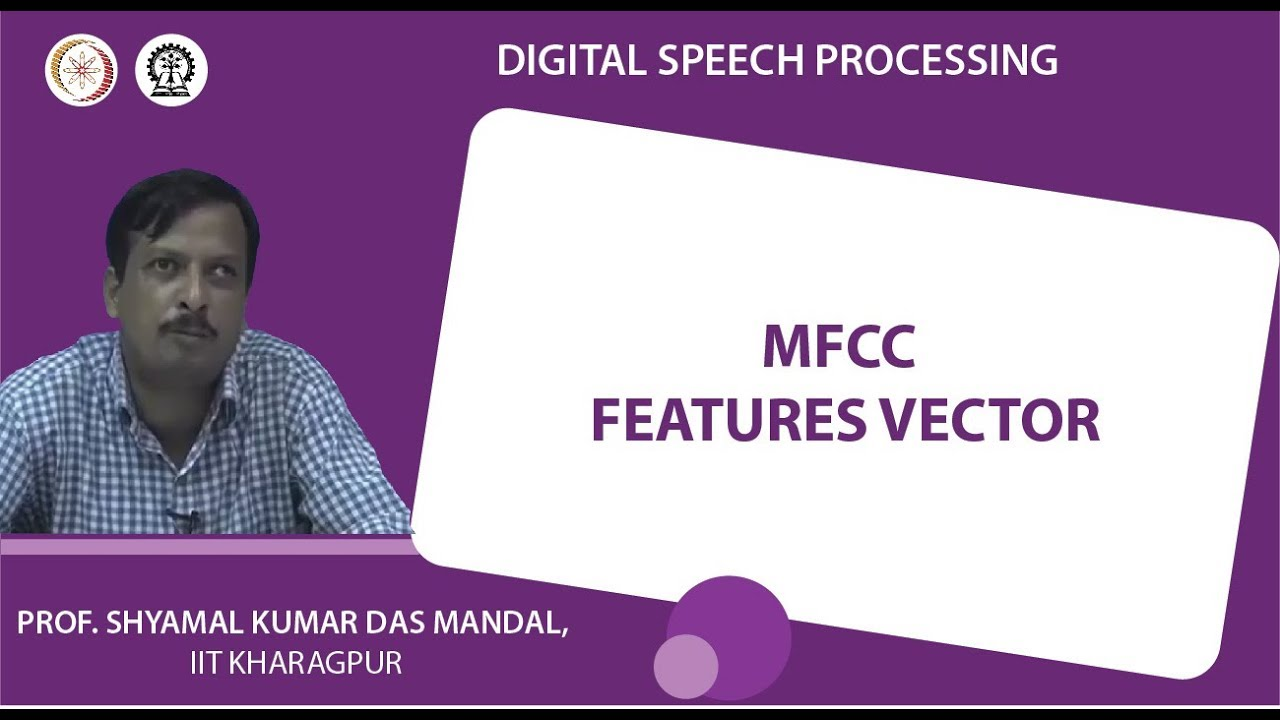 MFCC features vector