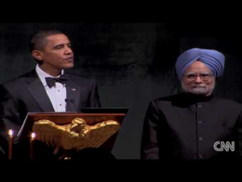 President Obama Host State Dinner with PM Manmohan Singh