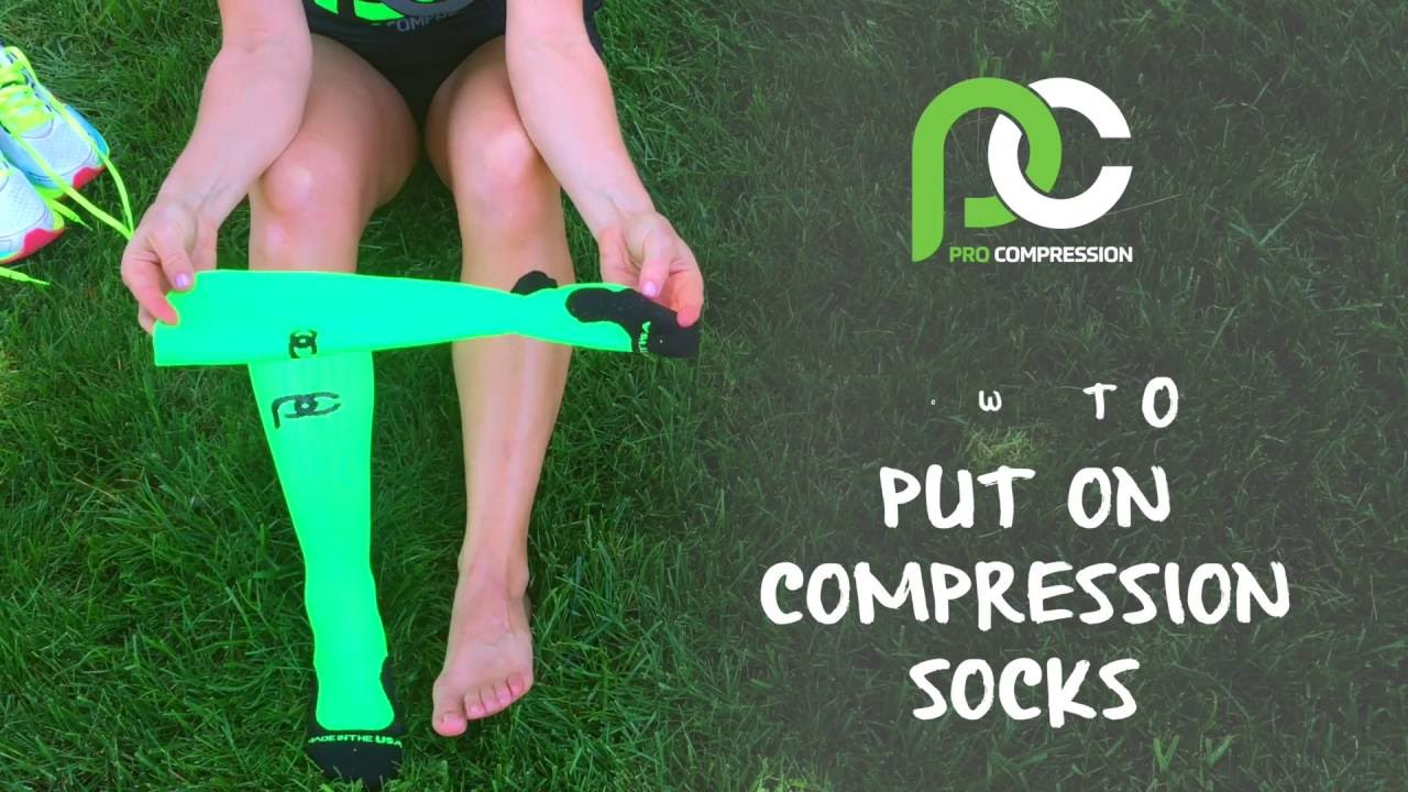 5823b63943 Getting Your Socks On. PRO Compression