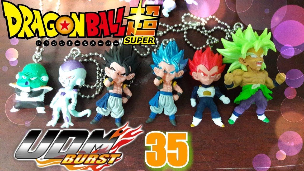 UDM Special 4 Dragon Ball Gashapon Keychain SS4 Gogeta