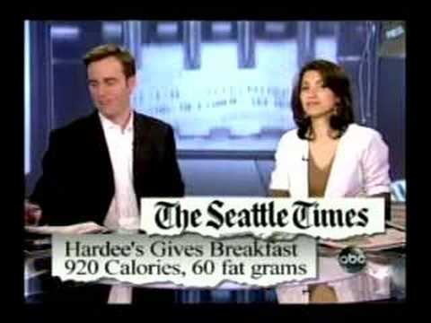 ABC WNN  Hardee's Breakfast Morning Papers