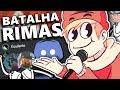 FIZEMOS UMA BATALHA DE RIMA NO DISCORD... - YouTube