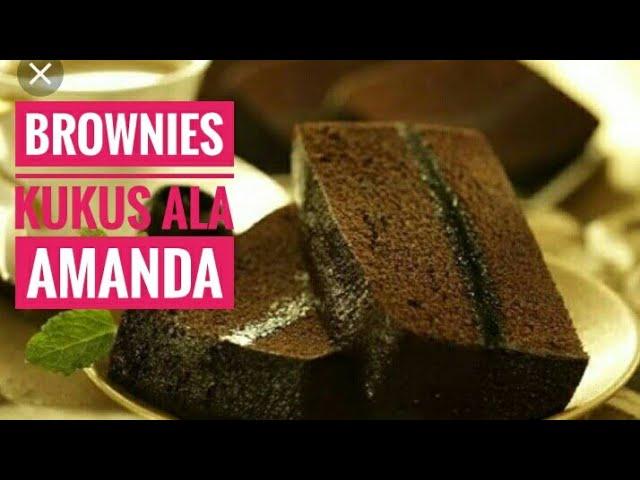 Resep brownies kukus lembut | anti gagal