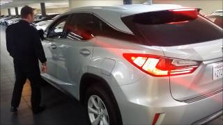 Lexus ICS Intelligence Clearance Sonar 2017 Lexus RX350 training