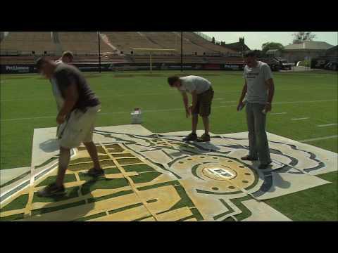 Boiler Bytes: Paint crews prepare field at Ross-Ade Stadium