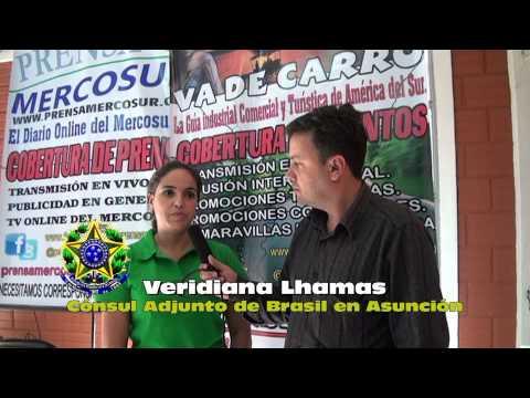 Consulado Itinerante del Brasil en Caaguazú 2013 - Legalización de brasileños, en Paraguay