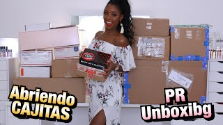 SUPER HAUL ABRIENDO CAJITAS #9 | PR UNBOXING HAUL | Mary Pulido