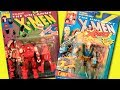 Marvel X-Men Cartoon Toys | Juggernaut | Cable 1st Edition | Toy Biz HD 2017