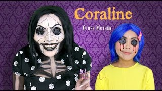 Coraline's Other Mother Makeup Tutorial thumbnail