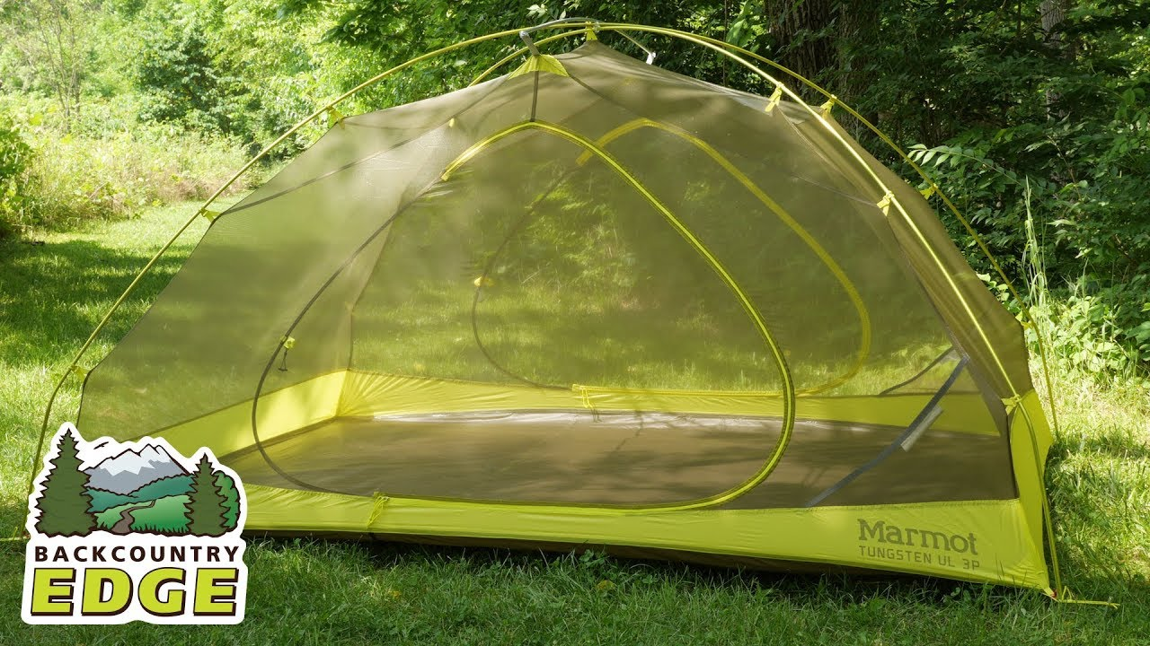 Marmot Tungsten UL 3P Backpacking Tent : ul tent - memphite.com