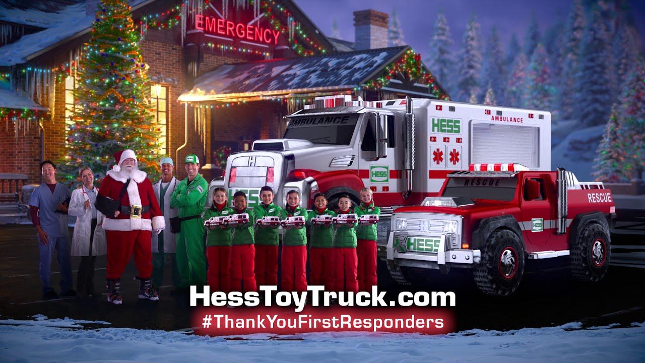 2020 hess truck fire truck