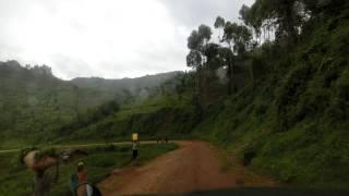 ムバレの高台から ムバレ市内へ