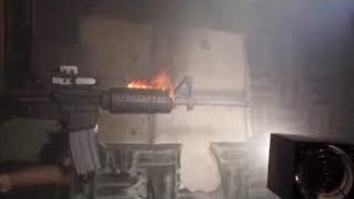 AR-15 Fired Full Auto Untill It Catches On Fire