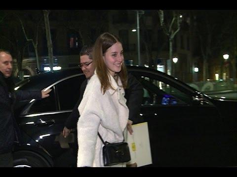 María Valverde y su marido Gustavo Dudamel en Barcelona