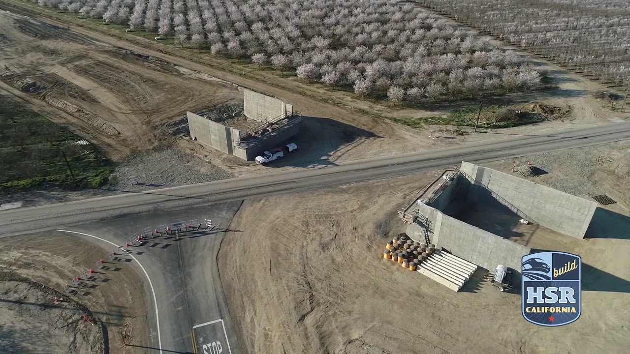 Check out new drone footage from early March at Pond Road, one of 11 structures planned for Construction Package 4. Crews are working on an abutment at the site west of State Route 43 and north of the City of Wasco.