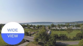 Der Campingplatz Willams am Bodensee in GERMANY