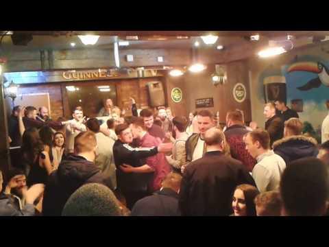 A Normal Saturday Night In Derry, Northern Ireland...