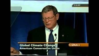 "Senator Inhofe: ""Dumb, crazy man, science-abuser, Holocaust denier"""