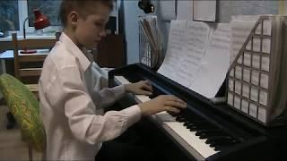 андантэ с вариациями пианино обучение