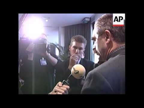BELGIUM: BRUSSELS: KLA PRESS CONFERENCE