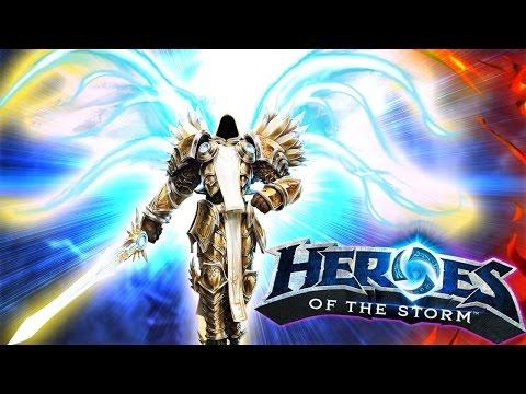 видео: heroes of the storm Тираэль осуждает Зула! - diablo Герои шторма Геймплей и обзор 1080p 60fps #игры