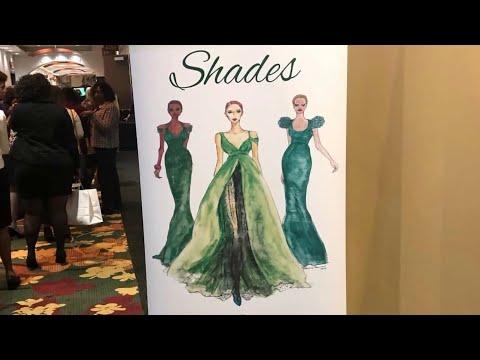 Shades of Green fashion show