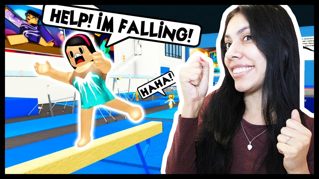 Roblox Gymnastics Game - My First Day At Gymnastics Tryouts Roblox Roleplay