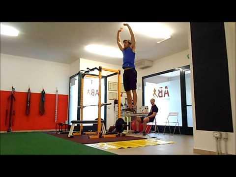 Carlo Raiteri NCAA Sprinter-Off Season Training at AB Sport Performance