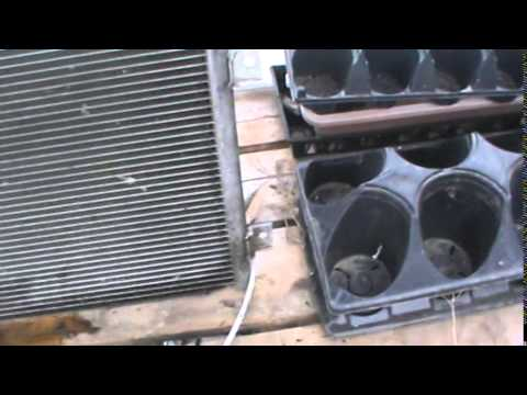Hot Water Heat Exchanger For Heating Greenhouse