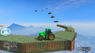 TRACTORES EXPLOSIVOS!!! - Gameplay GTA 5 Online Funny Moments (Carrera GTA V PS4)