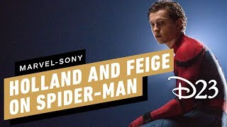 Tom Holland and Kevin Feige Comment on Spider-Man's MCU Exit - D23 2019